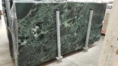 Fourniture dalles brillantes 2 cm en marbre naturel VERDE ALPI 1566M. Détail image photos