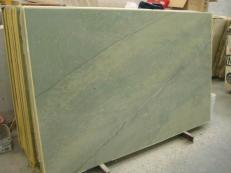 Fourniture dalles brillantes 2 cm en marbre naturel VERDE LAGUNA SR_060717. Détail image photos