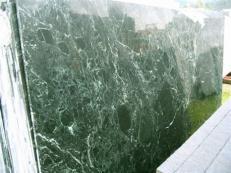 Fourniture dalles brillantes 2 cm en marbre naturel VERDE RAMEGGIATO SRC25122. Détail image photos