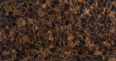 Fourniture dalles brillantes 2.5 cm en pierre semi précieuse naturelle WILD TIGER EYE AA-WTES. Détail image photos