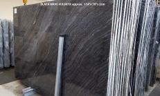Fourniture dalles brillantes 2 cm en marbre naturel Zebra Black UL0079. Détail image photos