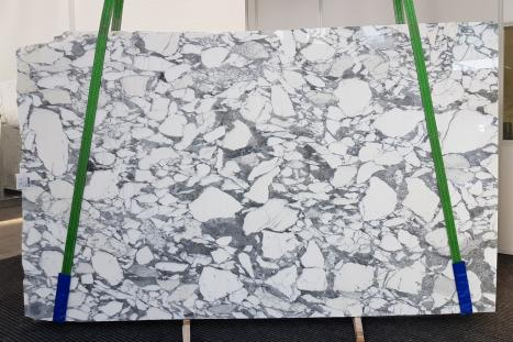 ARABESCATO CORCHIA Fourniture (Italie) d' dalles brillantes en marbre naturel 1031 , Slab #09