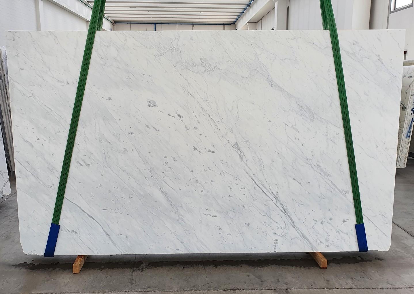 BIANCO CARRARA C Fourniture Veneto (Italie) d' dalles brillantes en marbre naturel 1441 , Slab #07