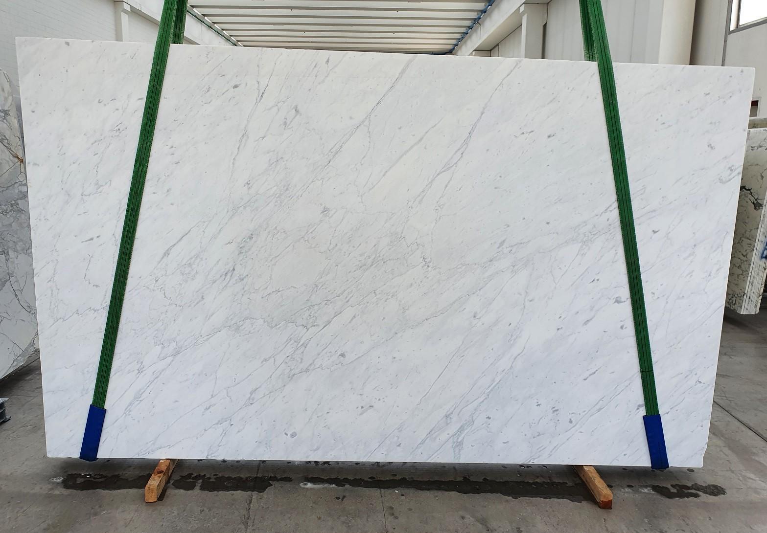 BIANCO CARRARA C Fourniture Veneto (Italie) d' dalles brillantes en marbre naturel 1441 , Slab #26