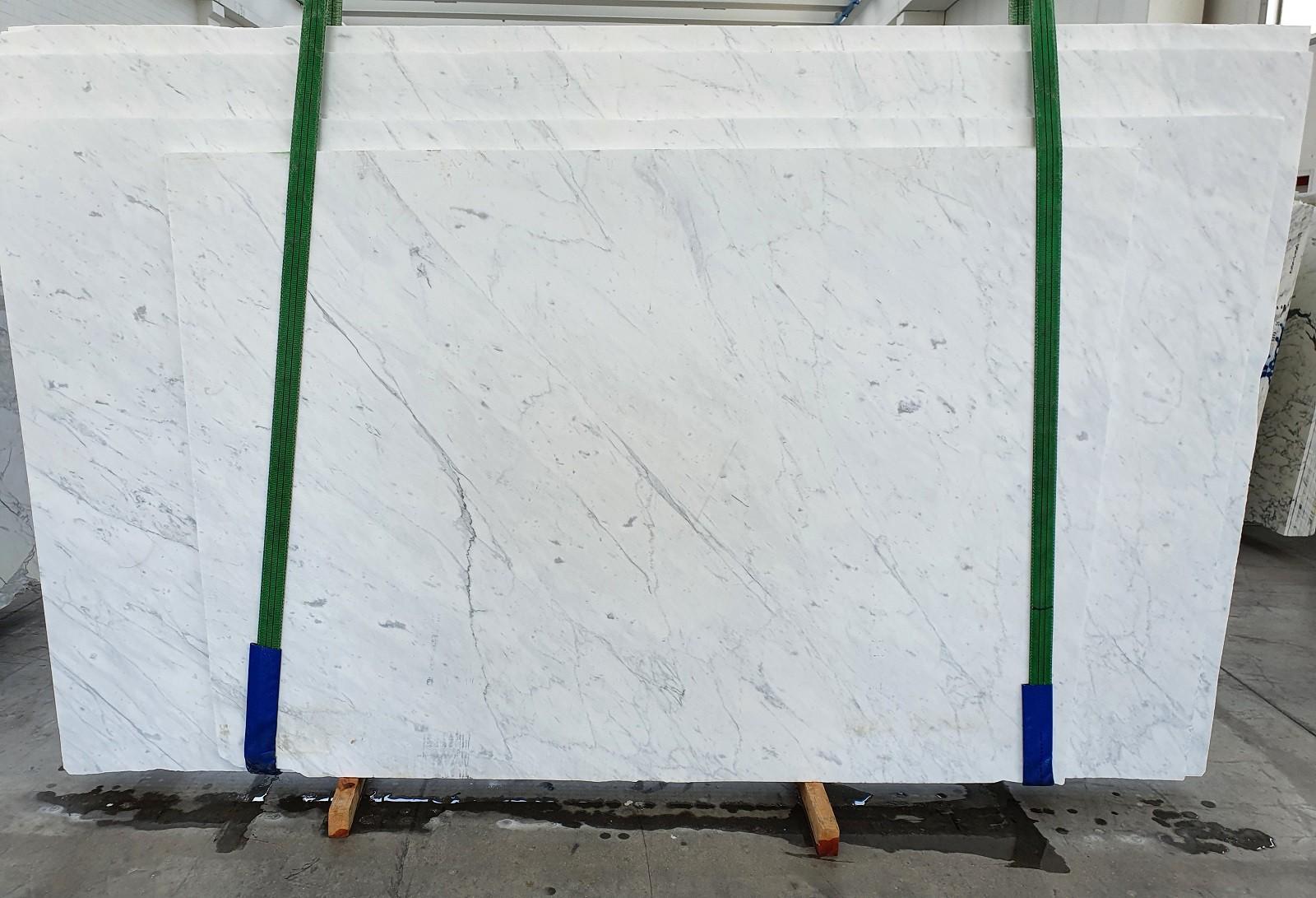 BIANCO CARRARA C Fourniture Veneto (Italie) d' dalles brillantes en marbre naturel 1441 , Slab #37