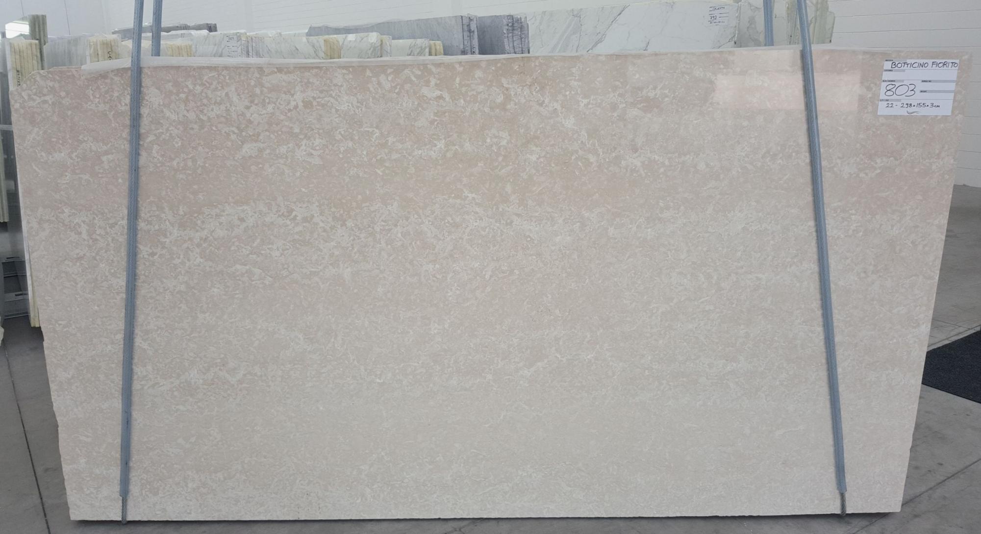 BOTTICINO FIORITO LIGHT Fourniture (Italie) d' dalles brillantes en marbre naturel 1149 , Bundle #1-2