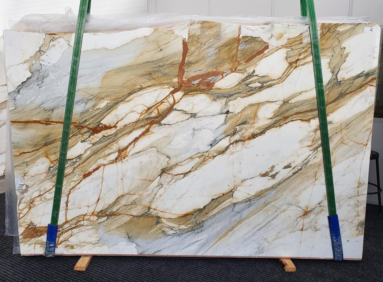 CALACATTA MACCHIAVECCHIA Fourniture Veneto (Italie) d' dalles brillantes en marbre naturel 1422 , Slab #02