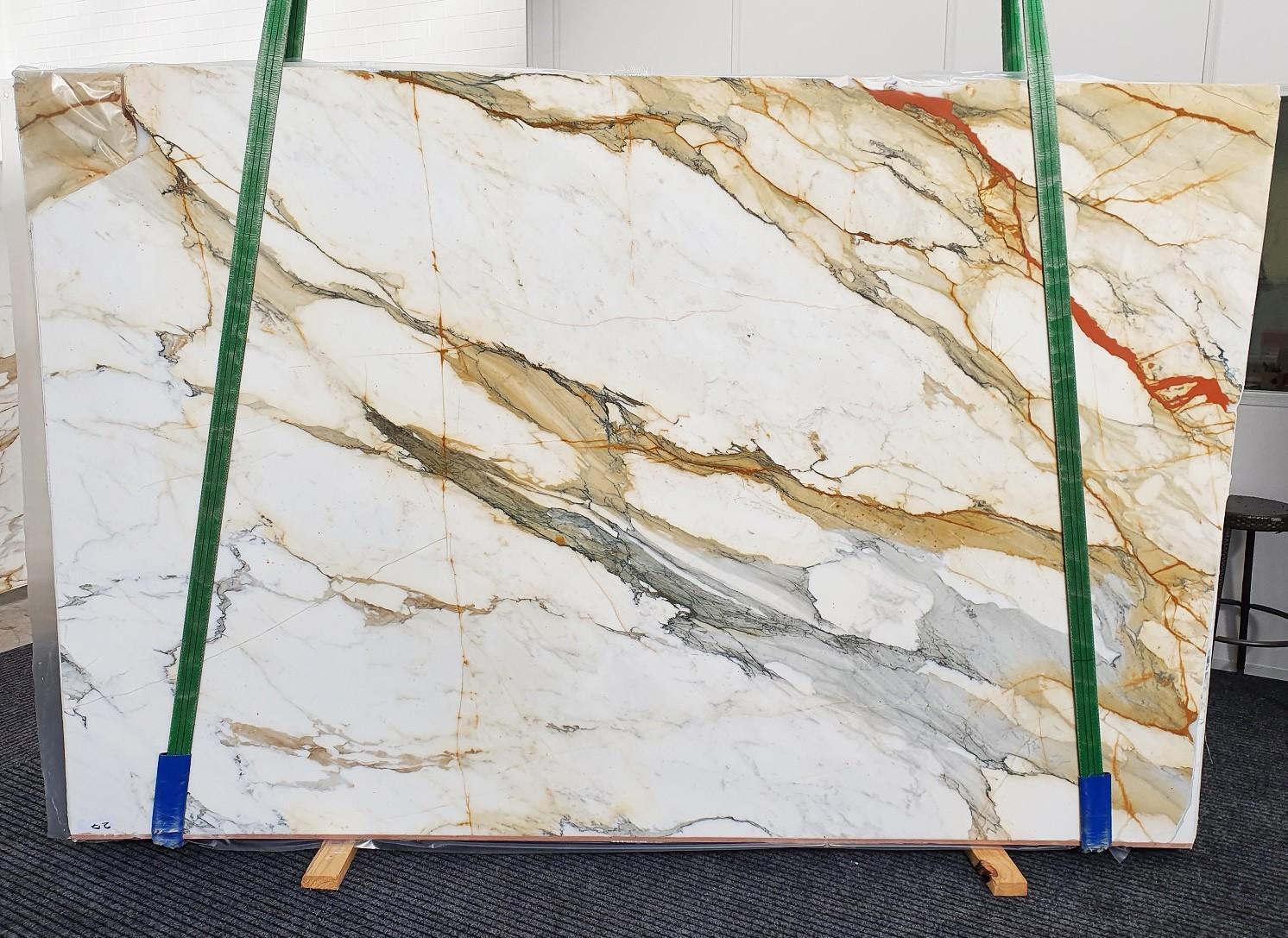 CALACATTA MACCHIAVECCHIA Fourniture Veneto (Italie) d' dalles brillantes en marbre naturel 1422 , Slab #27