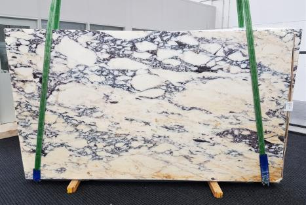 CALACATTA MONET Fourniture Veneto (Italie) d' dalles brillantes en marbre naturel 1371 , Slab #31