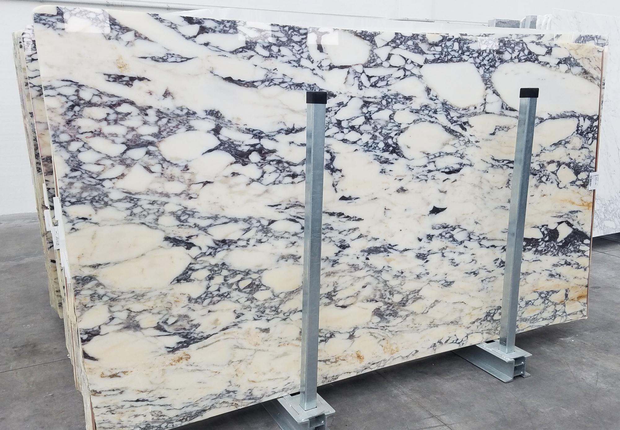 CALACATTA MONET Fourniture Veneto (Italie) d' dalles brillantes en marbre naturel 1371 , Slab #41