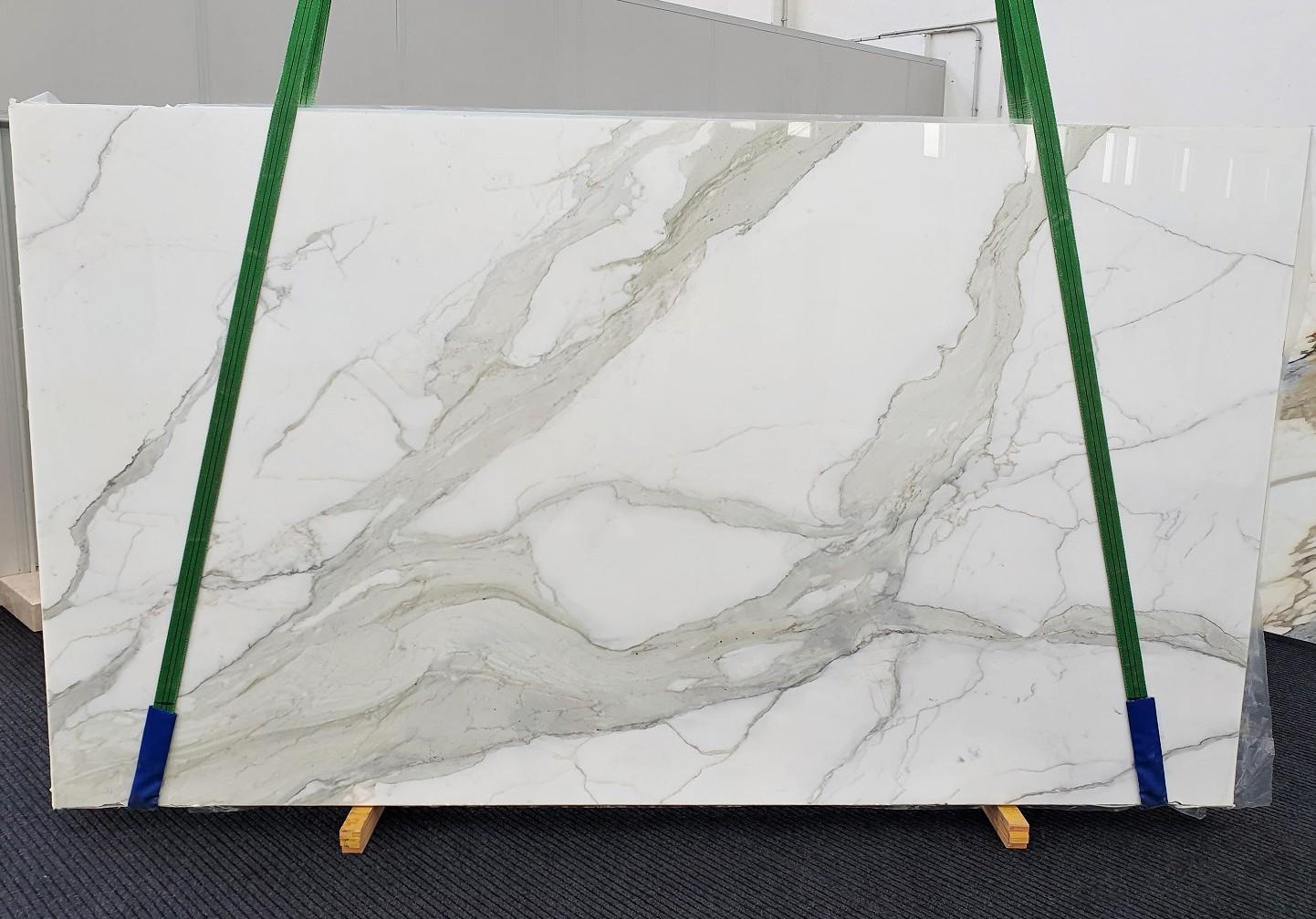 CALACATTA ORO EXTRA Fourniture Veneto (Italie) d' dalles brillantes en marbre naturel 1366 , Slab #09