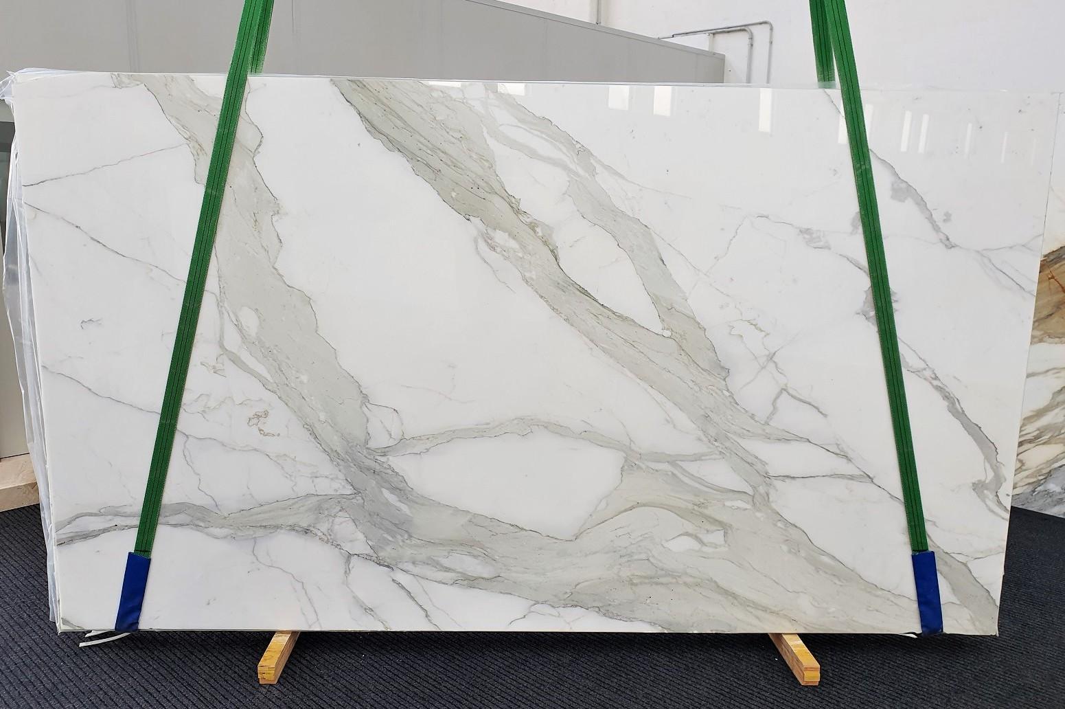 CALACATTA ORO EXTRA Fourniture Veneto (Italie) d' dalles brillantes en marbre naturel 1366 , Slab #18