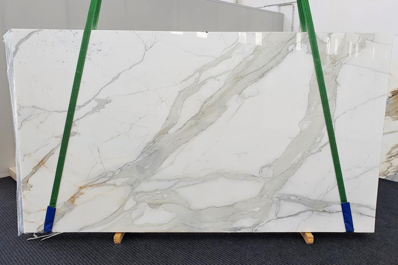 CALACATTA ORO EXTRA Fourniture Veneto (Italie) d' dalles brillantes en marbre naturel 1366 , Slab #27