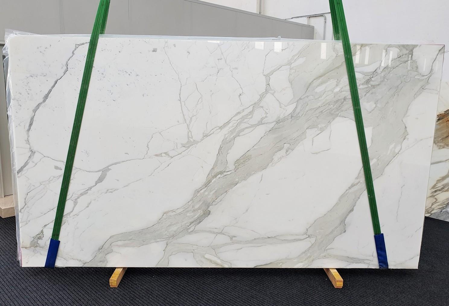 CALACATTA ORO EXTRA Fourniture Veneto (Italie) d' dalles brillantes en marbre naturel 1366 , Slab #45