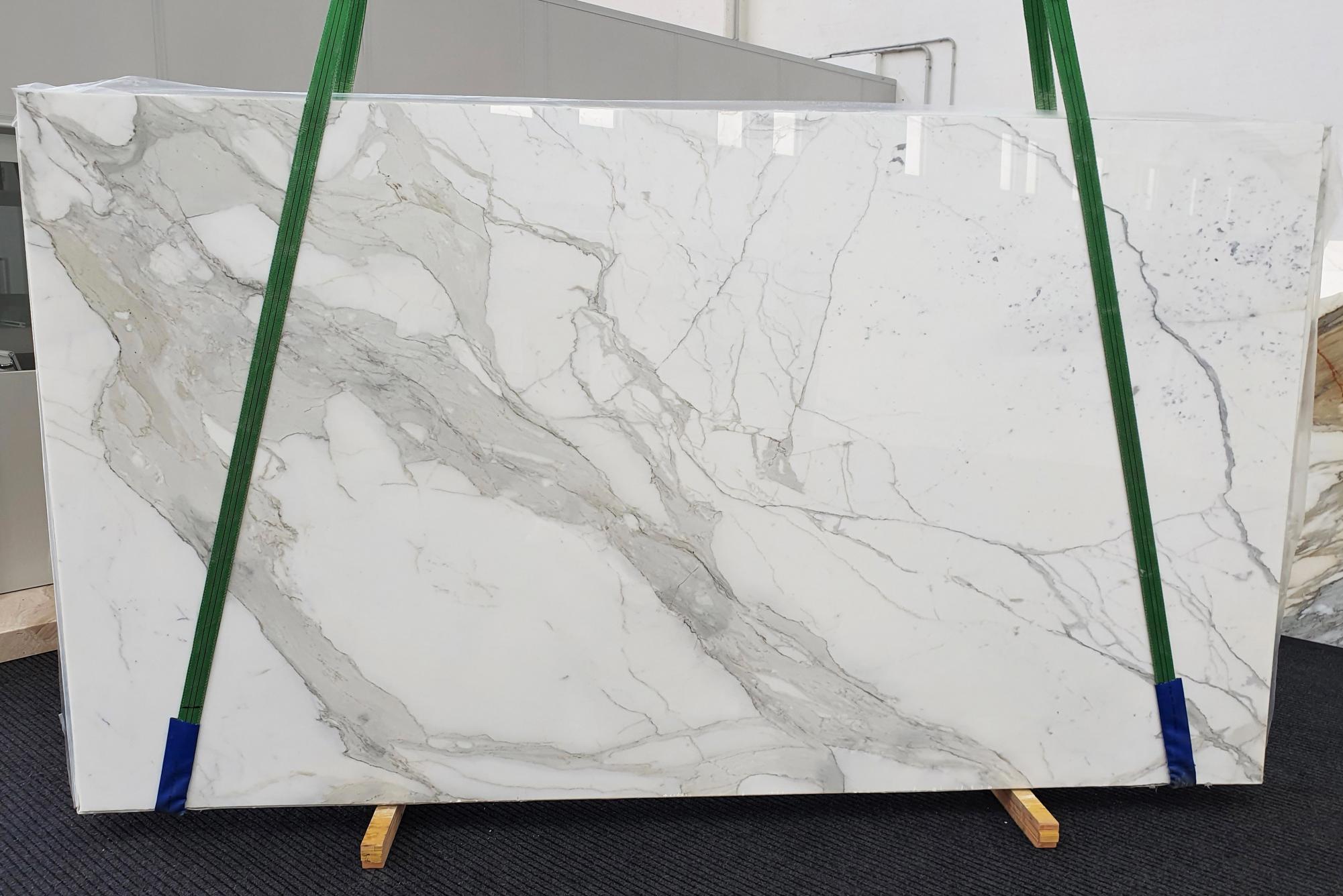 CALACATTA ORO EXTRA Fourniture Veneto (Italie) d' dalles brillantes en marbre naturel 1366 , Slab #52