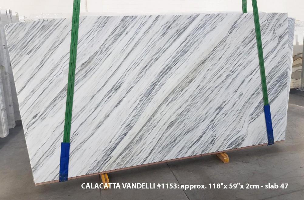 Calacatta Vandelli Fourniture Veneto (Italie) d' dalles brillantes en marbre naturel 1153 , Slab #47