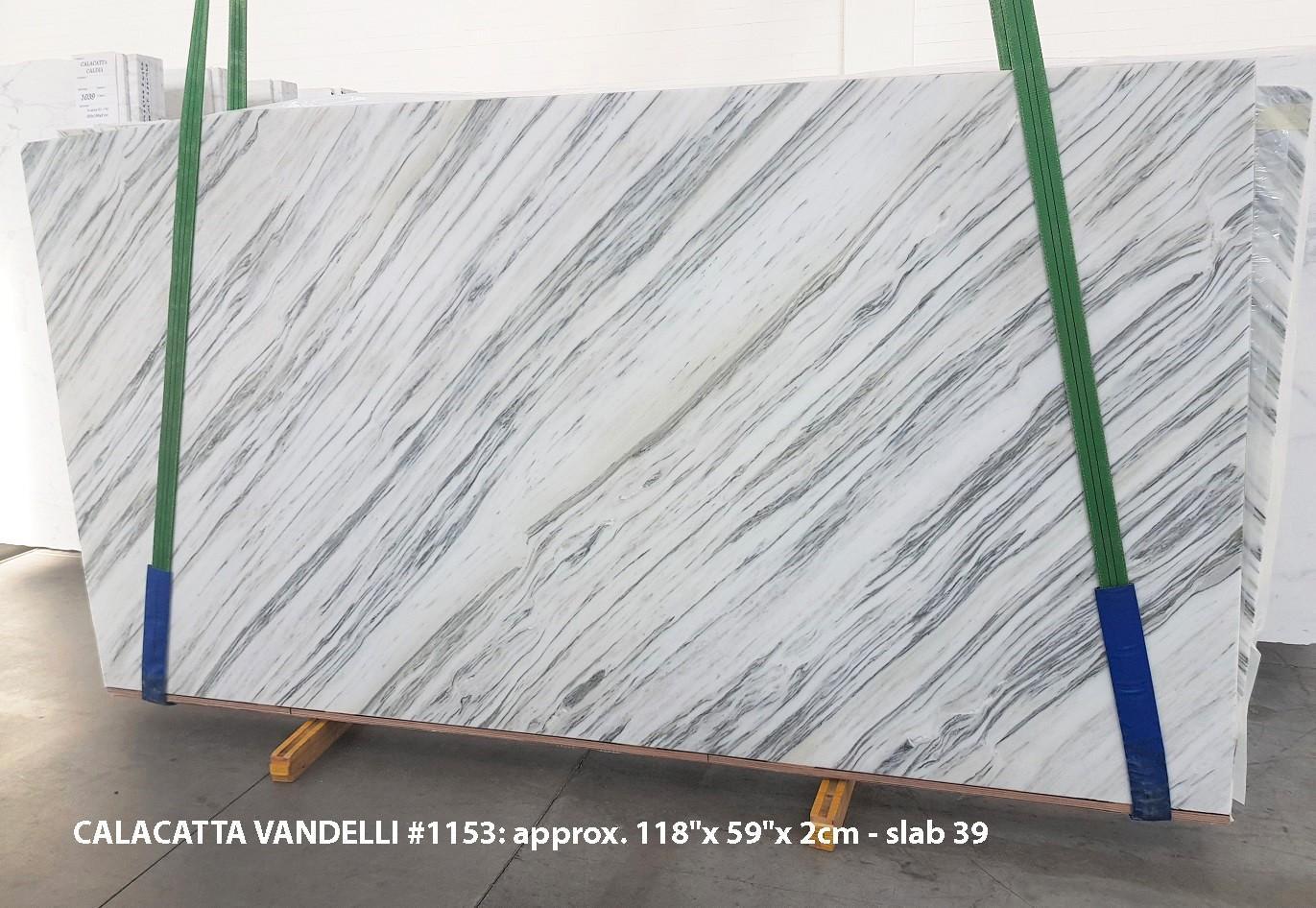 Calacatta Vandelli Fourniture Veneto (Italie) d' dalles brillantes en marbre naturel 1153 , Slab #39