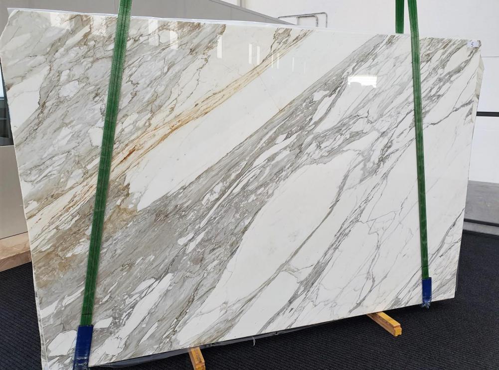 CALACATTA Fourniture Veneto (Italie) d' dalles brillantes en marbre naturel 1344 , A - slab #05
