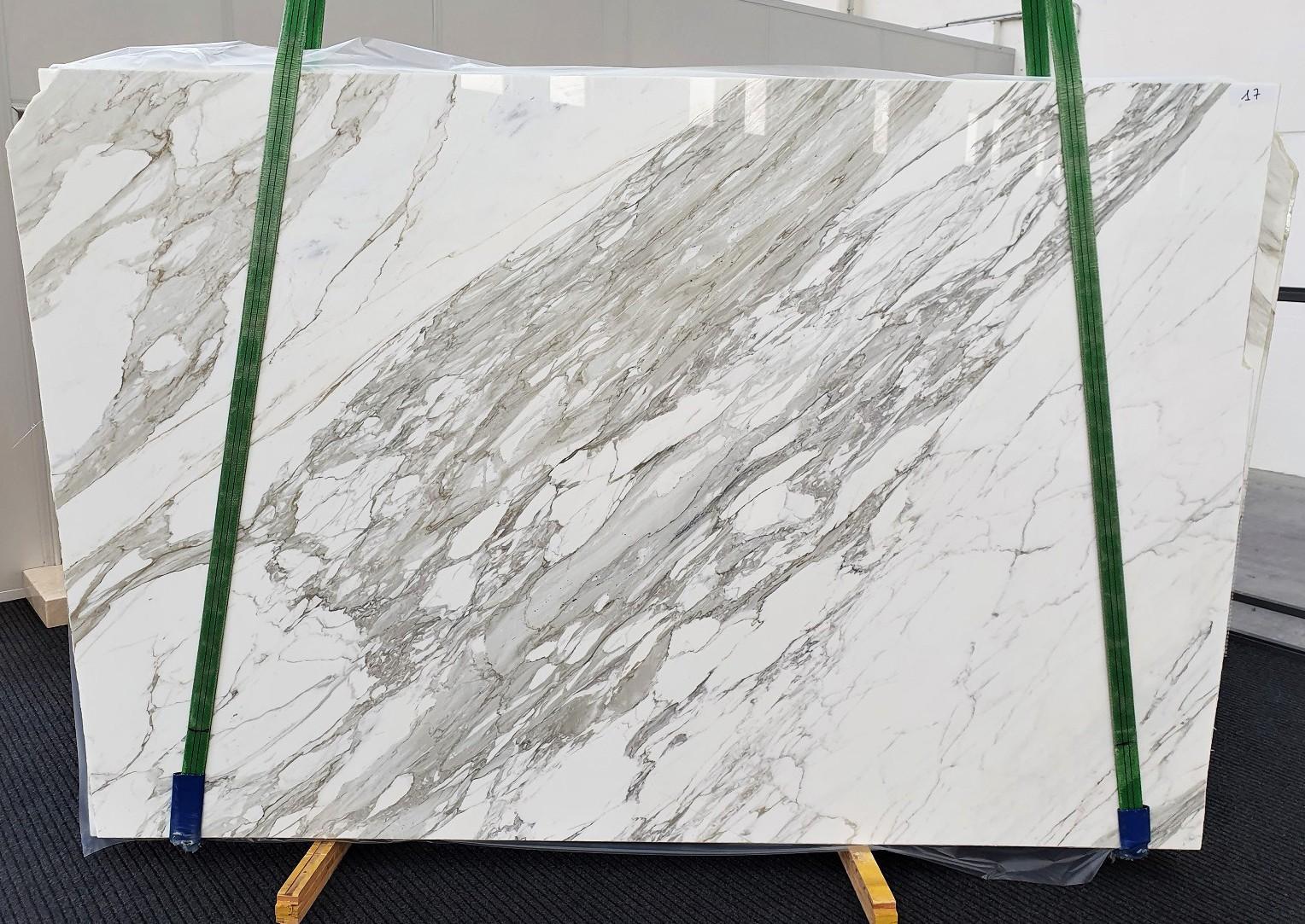 CALACATTA Fourniture Veneto (Italie) d' dalles brillantes en marbre naturel 1344 , C - slab #17