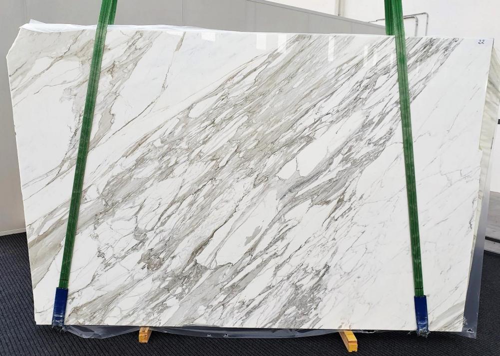 CALACATTA Fourniture Veneto (Italie) d' dalles brillantes en marbre naturel 1344 , C - slab #22