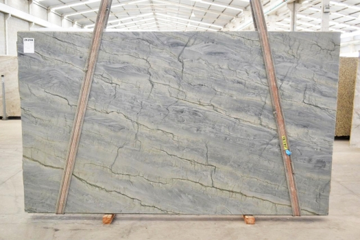 OCEAN BLUE Fourniture Verona (Italie) d' dalles brillantes en quartzite naturel 2382 , Bnd #26298