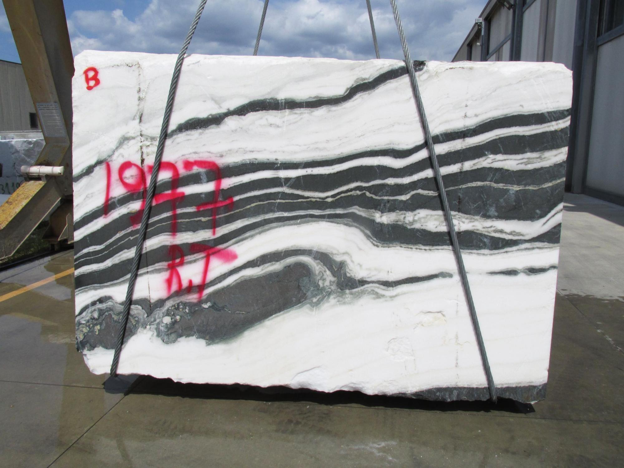 PANDA Fourniture Veneto (Italie) d' blocs bruts en marbre naturel 1771M , Face B