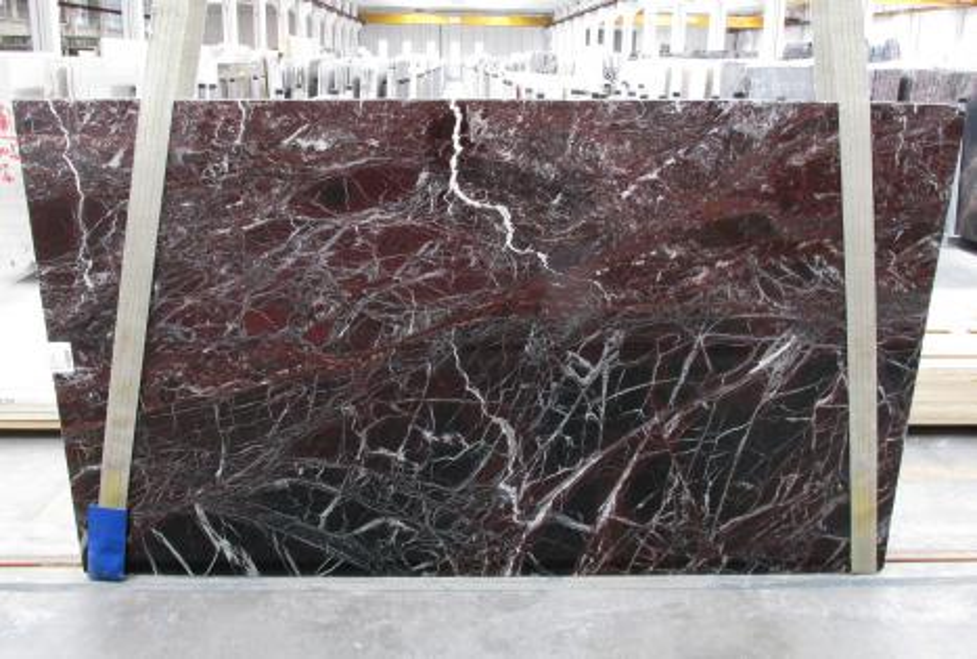 ROSSO LEVANTO Fourniture Veneto (Italie) d' dalles brillantes en marbre naturel 1712M , Slab #10