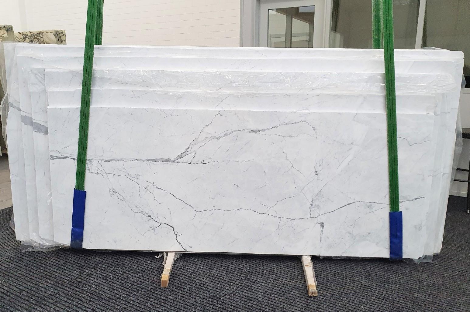 STATUARIETTO Fourniture Verona (Italie) d' dalles brillantes en marbre naturel 1290 , Slab #02