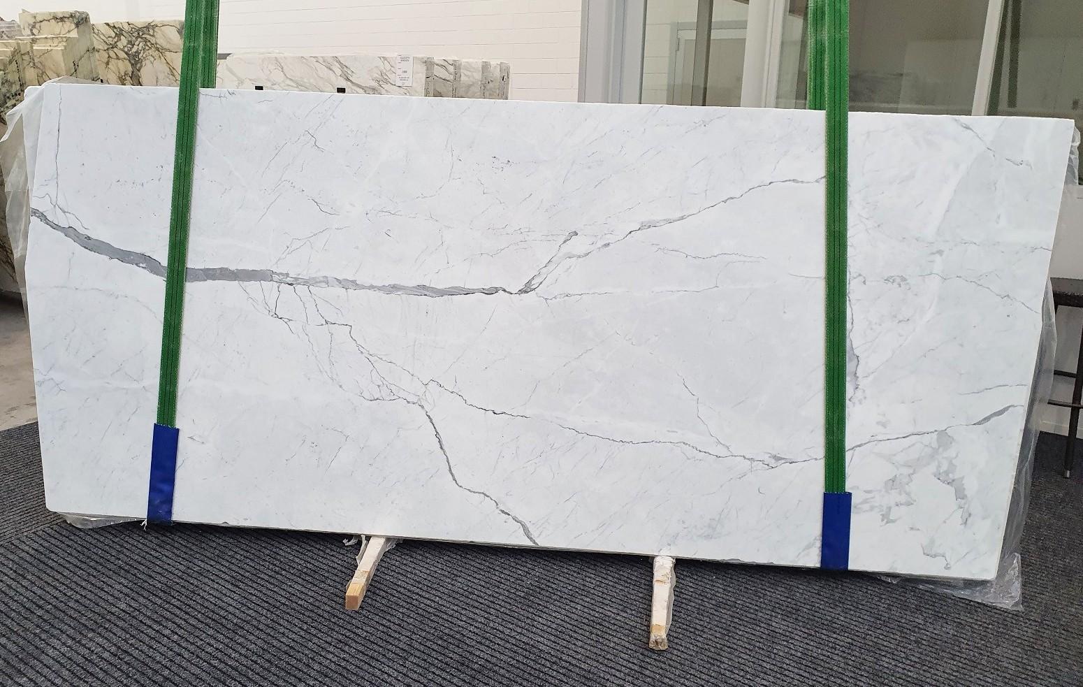 STATUARIETTO Fourniture (Italie) d' dalles brillantes en marbre naturel 1290 , Slab #10