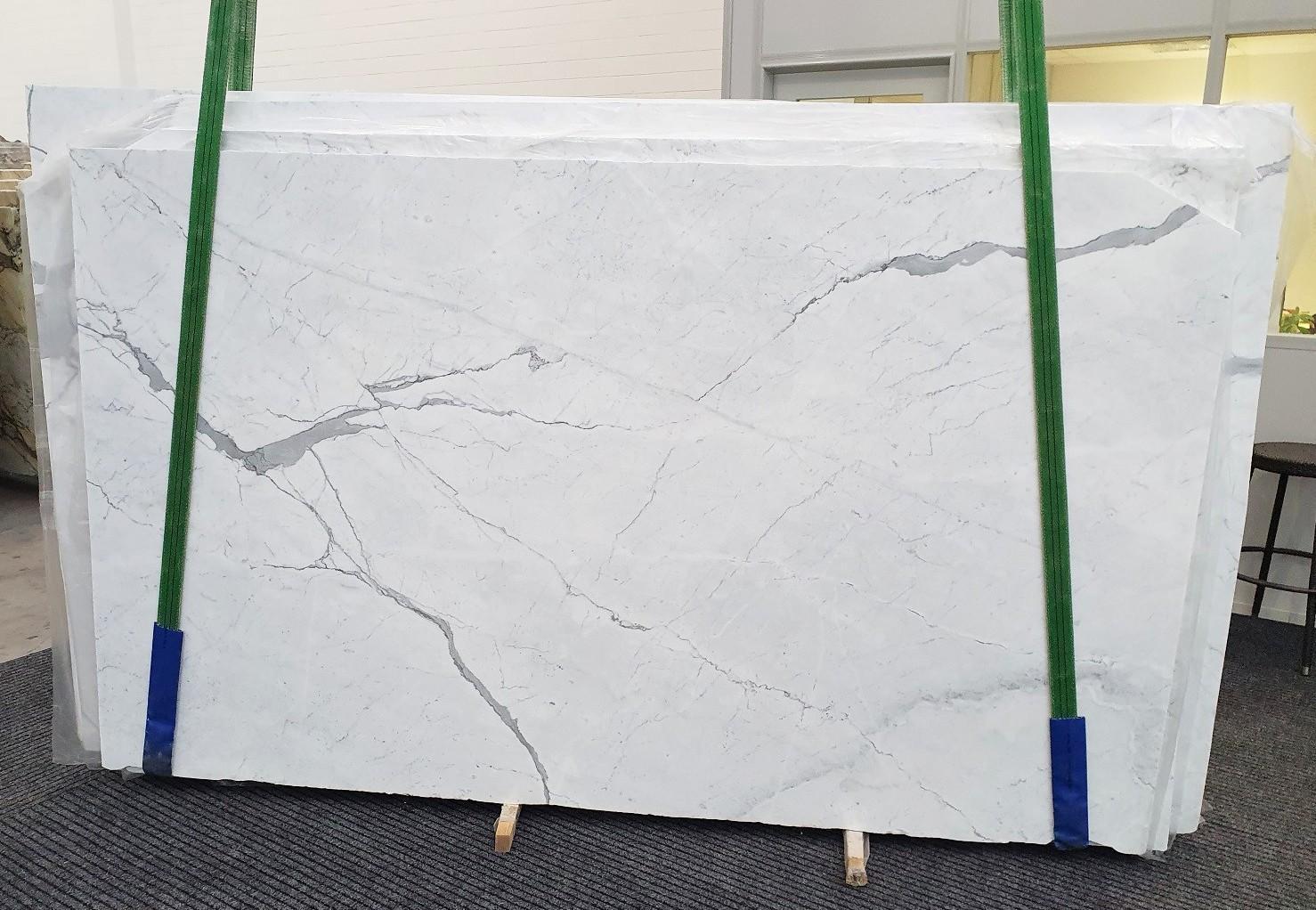 STATUARIETTO Fourniture (Italie) d' dalles brillantes en marbre naturel 1290 , Slab #44