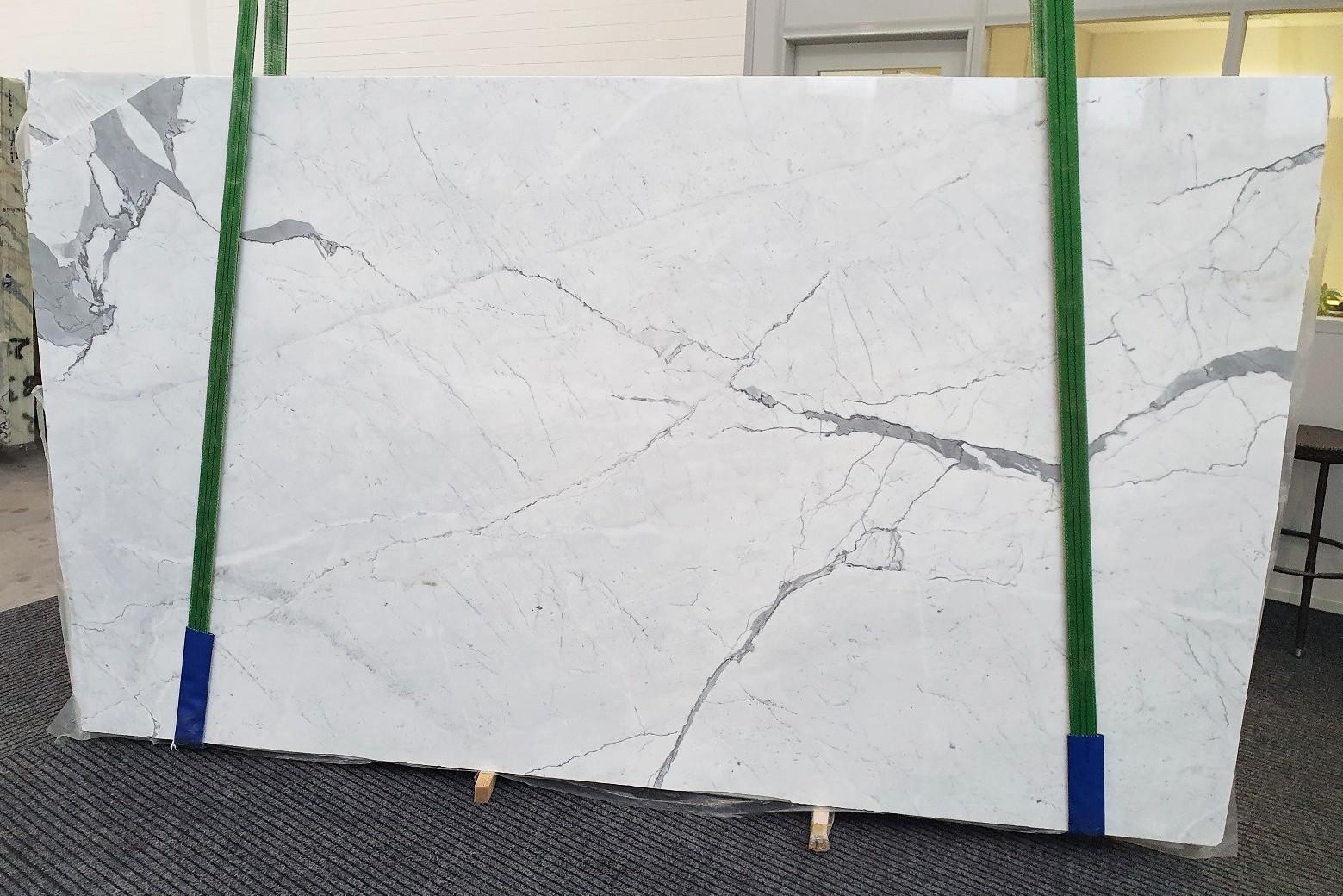 STATUARIETTO Fourniture (Italie) d' dalles brillantes en marbre naturel 1290 , Slab #37