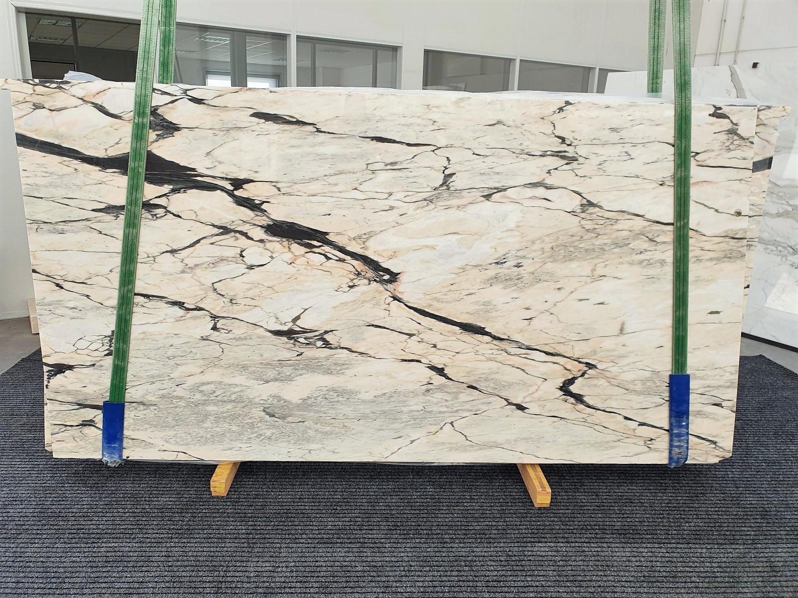 STATUARIO CORAL Fourniture Veneto (Italie) d' dalles brillantes en marbre naturel 1328 , Bundle #02