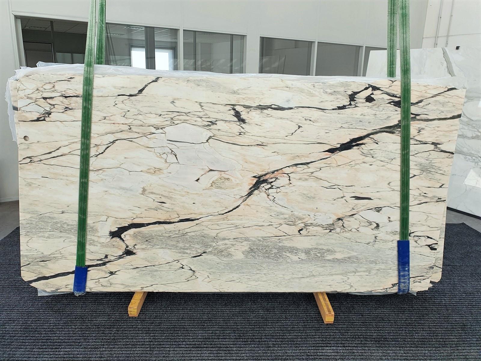 STATUARIO CORAL Fourniture Veneto (Italie) d' dalles brillantes en marbre naturel 1328 , Bundle #01