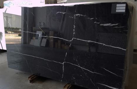 NERO MARQUINA 20 dalles marbre espagnol brillant SL2CM,  113 x 59.1 x 0.8 ˮ pierre naturel (disponibles à Verona, Italie)