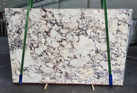 CALACATTA VIOLAdalle marbre italien brillant Slab #08-3,  299 x 190 x 3 cm pierre naturel (vendue en Veneto, Italie)