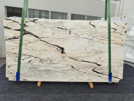 STATUARIO CORAL 10 dalles marbre portugais brillant Bundle #01,  270 x 145 x 2 cm pierre naturel (vendues en Veneto, Italie)