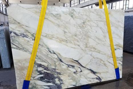 CALACATTA FIORITOdalle marbre italien scié Slab #34,  270 x 185 x 2 cm pierre naturel (disponible en Veneto, Italie)