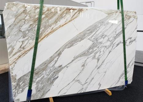 CALACATTAdalle marbre italien brillant A - slab #01,  300 x 200 x 3 cm pierre naturel (disponible en Veneto, Italie)