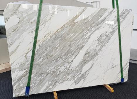 CALACATTAdalle marbre italien brillant B - slab #11,  300 x 200 x 3 cm pierre naturel (disponible en Veneto, Italie)