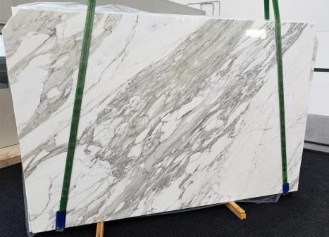 CALACATTAdalle marbre italien brillant C - slab #17,  300 x 200 x 3 cm pierre naturel (disponible en Veneto, Italie)