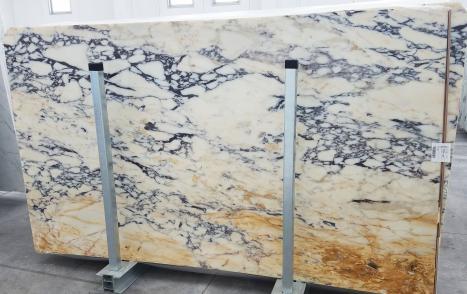 CALACATTA MONETdalle marbre italien brillant Slab #01,  285 x 160 x 2 cm pierre naturel (disponible en Veneto, Italie)