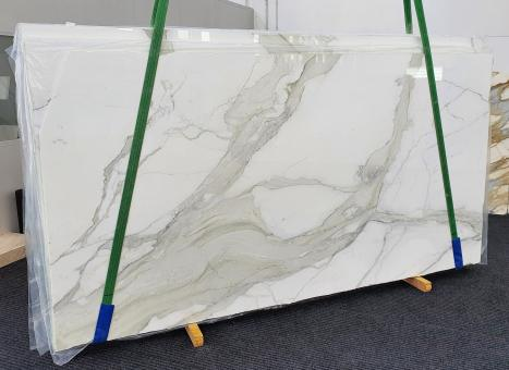CALACATTA ORO EXTRAdalle marbre italien brillant Slab #01,  350 x 200 x 2 cm pierre naturel (disponible en Veneto, Italie)