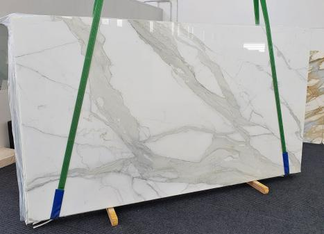 CALACATTA ORO EXTRAdalle marbre italien brillant Slab #18,  350 x 200 x 2 cm pierre naturel (disponible en Veneto, Italie)