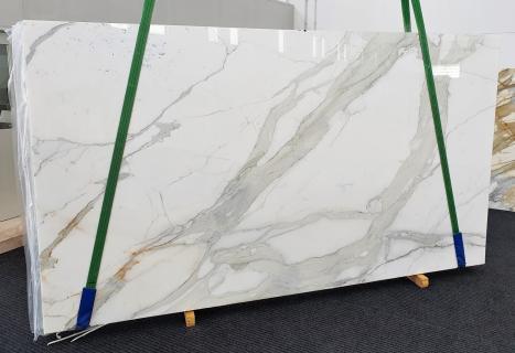 CALACATTA ORO EXTRAdalle marbre italien brillant Slab #27,  350 x 200 x 2 cm pierre naturel (disponible en Veneto, Italie)