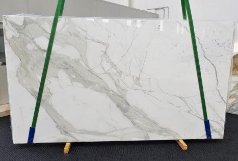 CALACATTA ORO EXTRAdalle marbre italien brillant Slab #54,  350 x 200 x 2 cm pierre naturel (disponible en Veneto, Italie)