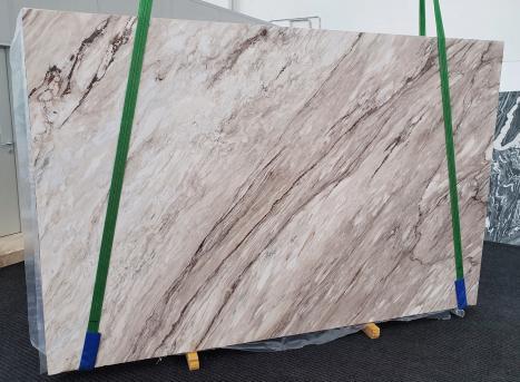 PALISSANDRO CLASSICOdalle marbre italien brillant Slab #01,  310 x 200 x 2 cm pierre naturel (disponible en Veneto, Italie)