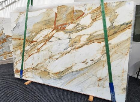 CALACATTA MACCHIAVECCHIAdalle marbre italien brillant Slab #02,  300 x 195 x 2 cm pierre naturel (disponible en Veneto, Italie)