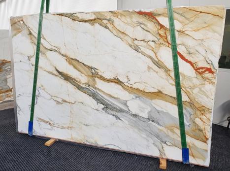 CALACATTA MACCHIAVECCHIAdalle marbre italien brillant Slab #27,  300 x 195 x 2 cm pierre naturel (disponible en Veneto, Italie)