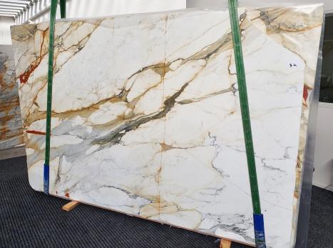 CALACATTA MACCHIAVECCHIAdalle marbre italien brillant Slab #34,  300 x 195 x 2 cm pierre naturel (disponible en Veneto, Italie)