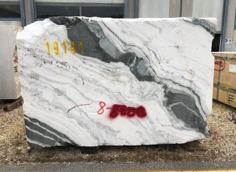 PANDA 1 bloc marbre chinois brut 103 x 67 x 33 ˮ pierre naturel (vendu à Verona, Italie)
